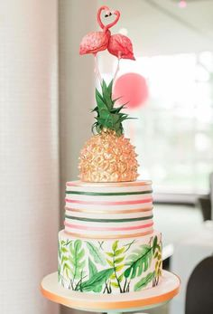 The UKs Top 50 Wedding Cake Designers 2017 2019 The UKs Top 50 Wedding Cake Designers 2017 The post The UKs Top 50 Wedding Cake Designers 2017 2019 appeared first on Birthday ideas. Bolos Pool Party, Pool Party Cakes, Luau Cakes, 13 Birthday Cake, Birthday Cakes For Teens, 50th Birthday Cake Designs, Birthday Ideas, Flamingo Cake, Flamingo Birthday