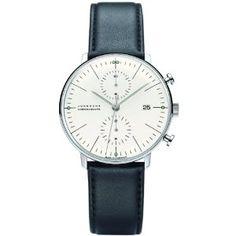 1dee9a89fc6b Mens Junghans Max Bill Chronoscope Automatic Chronograph Watch 027 4600.00