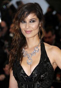 Bérénice Marlohe is wearing a Swarovski Rarely Necklace