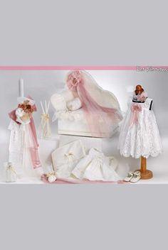 ΠΑΚΕΤΑ ΒΑΠΤΙΣΗΣ ΓΙΑ ΚΟΡΙΤΣΙ - ΠΑΚΕΤΟ ΒΑΠΤΙΣΗΣ ΓΙΑ ΚΟΡΙΤΣΙ VINTAGE ΚΑΝΑΠΕΔΑΚΙ 14BU15K639N Baby Girl Baptism, Girls Dresses, Flower Girl Dresses, Wedding Gifts, Tulle, Wedding Dresses, Vintage, Google, Fashion