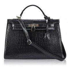 geanta mock crock bleumarin Hermes Kelly, Crock, Bags, Fashion, Handbags, Moda, Dime Bags, Hermes Kelly Bag, Fasion