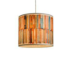 """Lampenschirm """"Bücher"""" (gefunden auf Westwing.de)"""