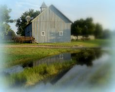 Schroeder Barn at Mennonite Heritage and Agricultural Museum Goessel KS