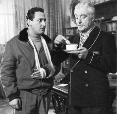 """Alberto Sordi and Vittorio De Sica, """"Il conte Max"""""""