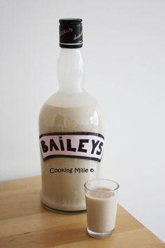 Une de mes amies adore le Baileys et je lui avais promis de lui en faire pour son anniversaire. J'ai donc cherché une recette et je suis tombée sur celle de Chic Chic Chocolat qui m'a tout de suite plu. Alors maintenant plus d'excuses pour ne pas essayer...