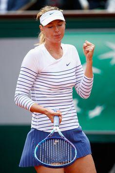 Maria Sharapova Photos - 2015 French Open - Day Four - Zimbio