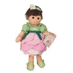 Bambola di pezza My Doll Bambola fiore rosa 42cm Curata nei minimi dettagli, è realizzata a mano in Italia.