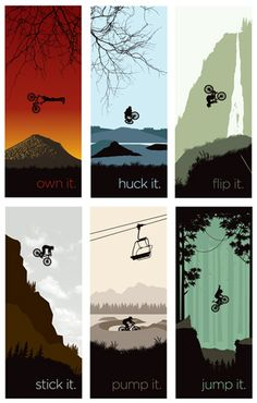 Mountain Bike Series I think in what encouraged me personally to obtain a new mtb, Bicycle Tattoo, Bicycle Art, Cycling Art, Cycling Bikes, Best Mountain Bikes, Mountain Biking, Montain Bike, Downhill Bike, Animals