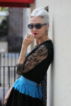 When I'm in my 6os, I wanna be like Linda Rodin. F that. I wanna be Linda Rodin…