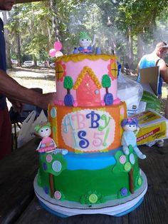 Lalaloopsy Cake- Bake Your Day, LLC, Alexandria, LA, (318)229-0299, www.facebook.com/bakeyourdayllc, bakeyourdayllc@hotmail.com