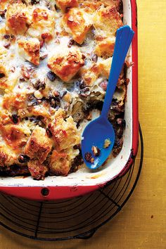 Capirotada (Mexican Bread Pudding) Recipe - Saveur.com.