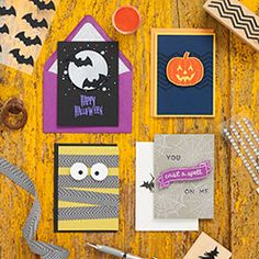 September 26 - Join us in-store for a Halloween Card Making Workshop!