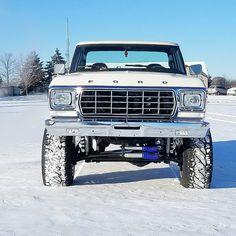 beatiful dentside 79 Ford Truck