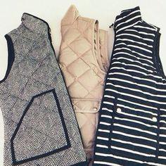 j.crew vests
