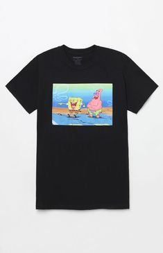 a2db821f Rep an iconic duo on top in the SpongeBob T-Shirt. This rad tee has a  classic construction with a SpongeBob and Patrick graphic on the front.