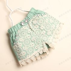 girls shorts on sale at reasonable prices, buy Lace fashion girls summer stylish children pants/Good quality girl clothes from mobile site on Aliexpress Now! Baby Outfits, Kids Outfits, Kids Pants, Kids Shorts, Moda Kids, Stylish Kids, Girls Wear, Kind Mode, Fashion Pants