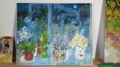Life Symbol, Lights Background, Still Life, Vases, Poppies, Pots, Glow, Symbols, Flowers