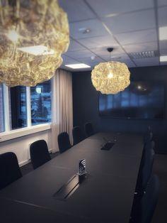Meetingroom. Decor, Conference Room, Room, Front Design, Ceiling Lights, Conference Room Table, Design Projects, Light, Chandelier