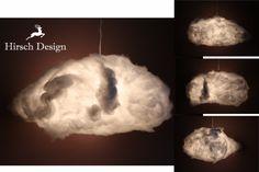 Hängelampen - Lampen in Wolkenform - ein Designerstück von Hirsch-Design bei DaWanda