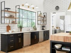 Kitchen Designs Step inside this inspired, stunning kitchen and start dreaming about how you might make over your own space. - Step inside the 2018 Food Network Fantasy Kitchen and be inspired to update your own. Home, Kitchen Decor, Cabinets To Go, Easy Kitchen Updates, Updated Kitchen, Kitchen Dining, Home Kitchens, Kitchen Renovation, Kitchen Design