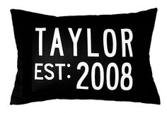 Personalized 14x20 Family Pillow