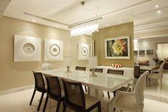 https://flic.kr/p/9Zfqta   Apartamento Decorado   O objetivo do cliente era de proporcionar à sala de jantar, estar e home um toque de equilíbrio e sofisticação. A expectativa foi atendida com um projeto limpo, sem muitos detalhes. Traços retos contemplam os ambientes em perfeita harmonia. Arquiteto: Marcos Jucá  Fotos: Xico Diniz