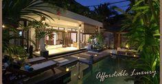 Villa Kipas - Luxurious Bali villas. 2 bedroom villas Seminyak Bali.