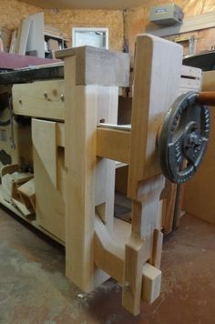 LEG VISE_KIEFER KNEE VISE
