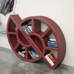 Nikkie bookcase Made of Adamantx. Design Michele Di Mauro.