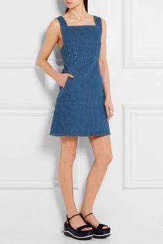Blue denim  Zip fastening along back  100% cotton Machine wash  Designer wash: Bright Indigo