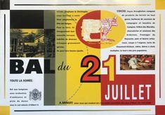 21/07/1992 - Bal du 21 juillet. Design: Christophe Brochier Venus, Le Genre, Broadway, Design, Winter Games, Venus Symbol