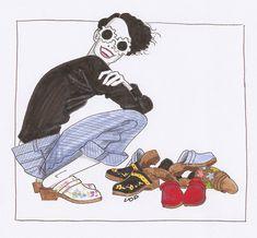 clogs illustration