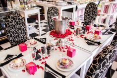 """There's only one way to """"Tea"""" and that's at an Isabella's High Tea! My Honey, High Tea, Life Is Good, Special Occasion, Table Settings, Pink Champagne, Shots, Sugar, Cake"""