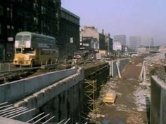 M8 under construction at St George's Road