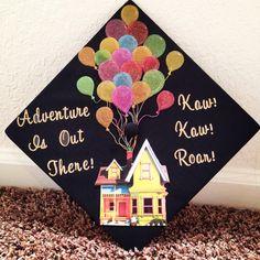 Disney Up Graduation Cap
