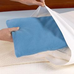 heat or cold therapy pillow.  This would be wonderful for my bad migraine nights.