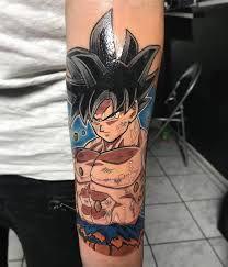 Goku Tattoo Gokutattoo Gokutattooidea Anime Tattoos Z Tattoo Dragon Ball Tattoo