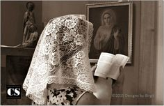 I did not grow up wearing a chapel veil, but I remember hearing the stories from my mother about being required to wear one to Mass.