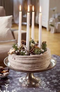 Scandi candles