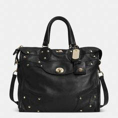 The Rhyder 33 Satchel In Soft Grain Leather from Coach~ Love this hand bag…Christmas??