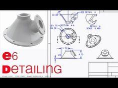 E6 CREO Parametric 2.0 Detailing 1 - YouTube
