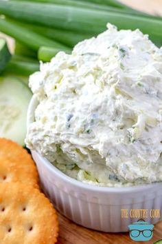 Cucumber Cream Cheese Spread is perfect for bagels or crackers. Fresh cucumbers, green onions, Worcestershire sauce and cream cheese. Easy Soup Recipes, Keto Recipes, Cooking Recipes, Healthy Recipes, Dip Recipes, Simple Recipes, Party Recipes, Unique Recipes, Popular Recipes