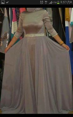 Hijab Fashion, Dresses With Sleeves, Victorian, Long Sleeve, Stitch, Style, Gowns With Sleeves, Full Stop, Sleeve Dresses