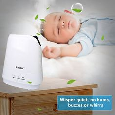 Amazon.com: 4.2L Warm & Cool Mist Humidifiers, Innoo Tech Ultrasonic Air Purifier with Aromatherapy Touch Control | Whisper-quiet Operation | Auto Shut-off for Baby bedroom, Nursery bedding , Office, Living Room: Home & Kitchen