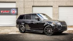 Range Rover looking good on a set of HRE rims.