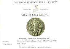 Well deserved Silver Gilt medal Hampton Court Flower Show, Building Design, City, Garden, Silver, Garten, Lawn And Garden, Cities, Gardens