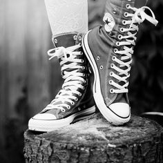 cool converse i always loved the combat boot type