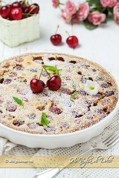 clafoutis alle ciliegie ricetta facile e veloce