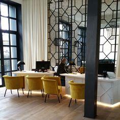Boutique Hôtel Barcelone The Serras #BoutiqueHotel #Barcelona #TheSerras #Design #Yellow