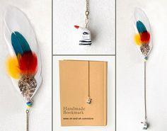 Handmade bookmarks. | Crafts for teens | Pinterest
